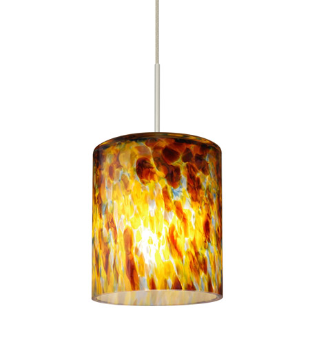 Satin Nickel Brass Falla Pendants