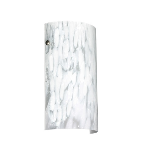 Besa lighting tamburo 1 light 7 inch satin nickel ada wall sconce besa lighting 704219 sn aloadofball Images