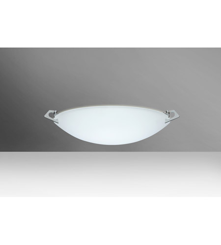 Besa Lighting Polished Nickel Flush Mounts