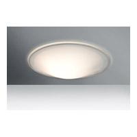 Besa Lighting 1CS-909539 Luma Slim 12 1 Light 12 inch Flush Mount Ceiling Light in Incandescent