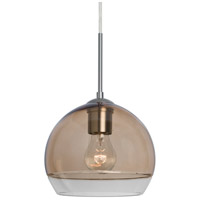 Besa Lighting 1JT-ALLY8SM-SN Ally 1 Light Satin Nickel Pendant Ceiling Light
