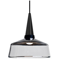 Besa Lighting 1JT-BARON10BK-BK Baron 1 Light Black Pendant Ceiling Light