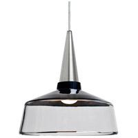 Besa Lighting 1JT-BARON10BK-LED-SN Baron 1 Light Satin Nickel Pendant Ceiling Light