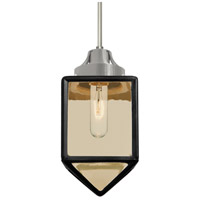 Besa Lighting 1JT-BRAVOBK-SN Bravo 1 Light Satin Nickel Pendant Ceiling Light