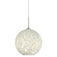 Besa Lighting 1JT-COCO1019-SN Coco 10 1 Light Satin Nickel Cord Pendant Ceiling Light