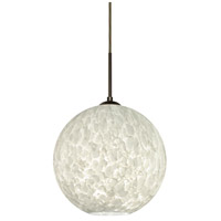 Besa Lighting 1JT-COCO1219-LED-BR Coco 12 LED Bronze Cord Pendant Ceiling Light