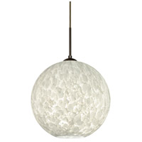 Besa Lighting 1JT-COCO1419-LED-BR Coco 14 LED Bronze Cord Pendant Ceiling Light