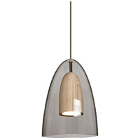 Besa Lighting 1JT-DANOSMNA-LED-BR Dano LED Bronze Pendant Ceiling Light