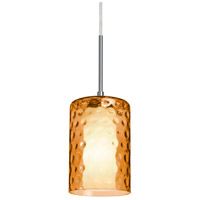 B1JT-ESAAM-SN Esa Lighting Esa 1 Light Satin Nickel Pendant Ceiling Light