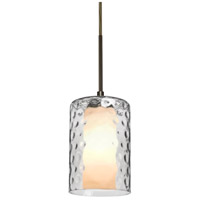 B1JT-ESACL-BR Esa Lighting Esa 1 Light Bronze Pendant Ceiling Light