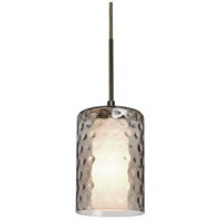 B1JT-ESASM-BR Esa Lighting Esa 1 Light Bronze Pendant Ceiling Light