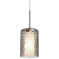 B1JT-ESASM-SN Esa Lighting Esa 1 Light Satin Nickel Pendant Ceiling Light