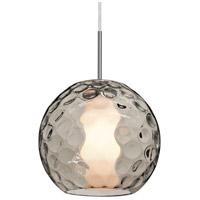 Besa Lighting 1JT-LAYLASM-LED-SN Layla LED Satin Nickel Pendant Ceiling Light