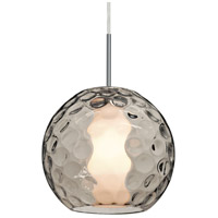 Besa Lighting 1JT-LAYLASM-SN Layla 1 Light Satin Nickel Pendant Ceiling Light