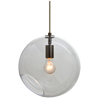 Besa Lighting 1JT-MAESTRO12CL-BR Maestro 1 Light Bronze Pendant Ceiling Light