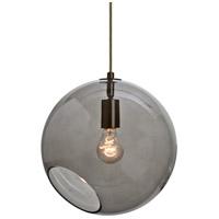 Besa Lighting 1JT-MAESTRO12SM-BR Maestro 1 Light Bronze Pendant Ceiling Light