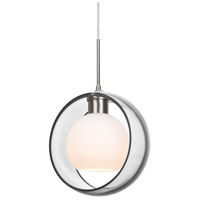 Besa Lighting 1JT-MANACL-LED-SN Mana LED Satin Nickel Cord Pendant Ceiling Light