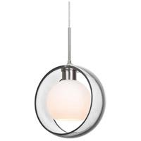 Besa Lighting 1JT-MANACL-SN Mana 1 Light Satin Nickel Cord Pendant Ceiling Light