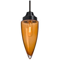 Besa Lighting 1JT-SULUAM-BK Sulu 1 Light Black Pendant Ceiling Light