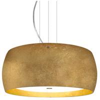 Besa Lighting 1KV-POGOGG-LED-SN Pogo LED Satin Nickel Cable Pendant Ceiling Light