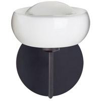 Besa Lighting 1SW-2634FR-LED-BR Focus LED 7 inch Bronze Mini Sconce Wall Light in Frost Glass