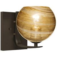 Besa Lighting 1WC-JILLYAM-BR Jilly 1 Light 7 inch Bronze Vanity Light Wall Light