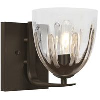 Phantom 6 1 Light 6 inch Bronze Vanity Wall Light