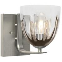 Besa Lighting Phantom 6 1 Light 6 inch Satin Nickel Vanity Wall Light