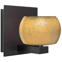 Besa Lighting 1WF-KENOGD-LED-BR Keno 1 Light Bronze Vanity Light Wall Light