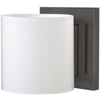 Besa Lighting 1WS-718006-BR Pogo 1 Light 5 inch Bronze ADA Mini Sconce Wall Light in Halogen Opal Glossy Glass