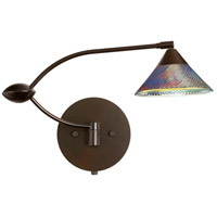 Kona 1WU 21 inch 50 watt Bronze Swing Arm Sconce Wall Light