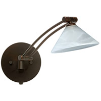 Besa Lighting 1WW-117652-BR Kona 1ww 14 inch 50 watt Bronze Swing Arm Sconce Wall Light
