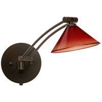 Besa Lighting 1WW-117681-BR Kona 1ww 14 inch 50 watt Bronze Swing Arm Sconce Wall Light