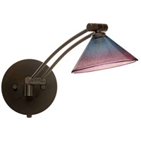 Besa Lighting 1WW-117691-BR Kona 1ww 14 inch 50 watt Bronze Swing Arm Sconce Wall Light