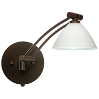 Besa Lighting 1WW-174307-BR Domi 1ww 14 inch 50 watt Bronze Swing Arm Sconce Wall Light