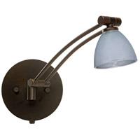 Besa Lighting 1WW-1758SF-BR Divi 1ww 13 inch 50 watt Bronze Swing Arm Sconce Wall Light