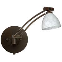 Besa Lighting 1WW-185819-BR Divi 1ww 13 inch 50 watt Bronze Swing Arm Sconce Wall Light