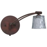 Besa Lighting 1WW-5145SF-BR Nico 3 1ww 13 inch 50 watt Bronze Swing Arm Sconce Wall Light