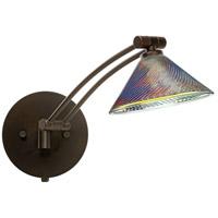 Besa Lighting 1WW-550493-BR Kona 1ww 14 inch 50 watt Bronze Swing Arm Sconce Wall Light