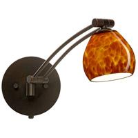 Besa Lighting 1WW-560518-BR Tay Tay 1ww 13 inch 50 watt Bronze Swing Arm Sconce Wall Light