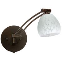 Besa Lighting 1WW-560519-BR Tay Tay 1ww 13 inch 50 watt Bronze Swing Arm Sconce Wall Light
