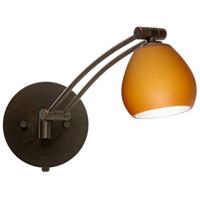 Besa Lighting 1WW-560580-BR Tay Tay 1ww 13 inch 50 watt Bronze Swing Arm Sconce Wall Light
