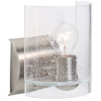 Besa Lighting 1WZ-CELTICBB-SN Celtic 1 Light 6 inch Satin Nickel Wall Sconce Wall Light in Incandescent Bubble Glass
