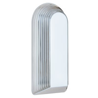 Costaluz 2433 Series 2 Light 15 inch White Outdoor Sconce in Clear Glass