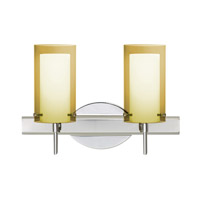Pahu LED 15 inch Chrome Vanity Wall Light
