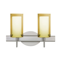 Pahu LED 15 inch Satin Nickel Vanity Wall Light