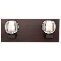 Besa Lighting 2WF-BOCACL-LED-BR Boca LED Bronze Vanity Light Wall Light