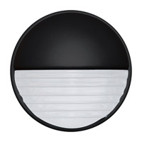 3019 Series 1 Light 9 inch Black Outdoor Sconce, Costaluz