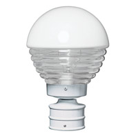 3152 Series 1 Light 13 inch White Outdoor Post Mount, Costaluz