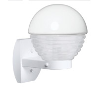 3061 Series 1 Light 12 inch White Outdoor Sconce, Costaluz
